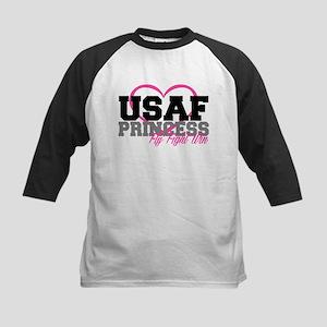 USAF PRINCESS Kids Baseball Jersey