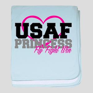 USAF PRINCESS baby blanket