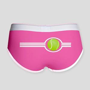 Three Stripes Tennis Ball Women's Boy Brief