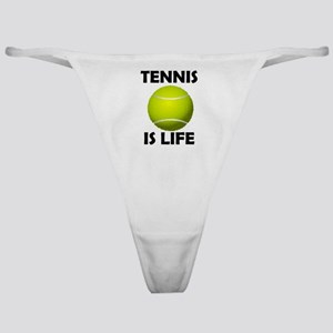 Tennis Is Life Classic Thong