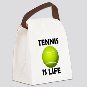 Tennis Is Life Canvas Lunch Bag