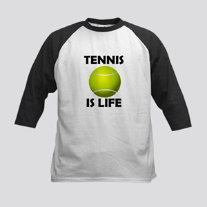 Tennis Is Life Kids Baseball Jersey
