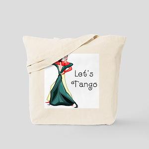 Let's Tango Tote Bag
