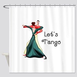 Let's Tango Shower Curtain