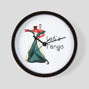 Let's Tango Wall Clock