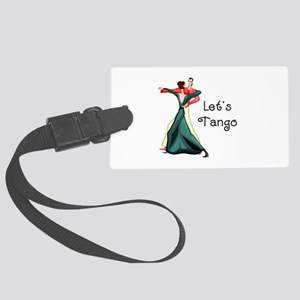 Let's Tango Large Luggage Tag