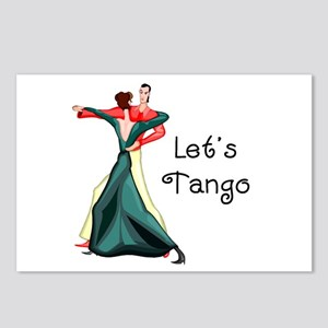 Let's Tango Postcards (Package of 8)