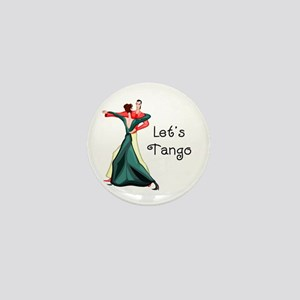Let's Tango Mini Button