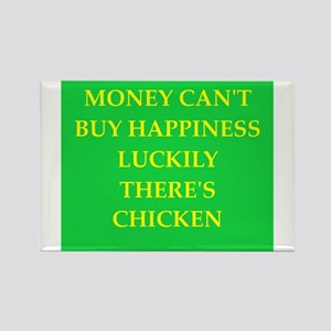 chicken Rectangle Magnet