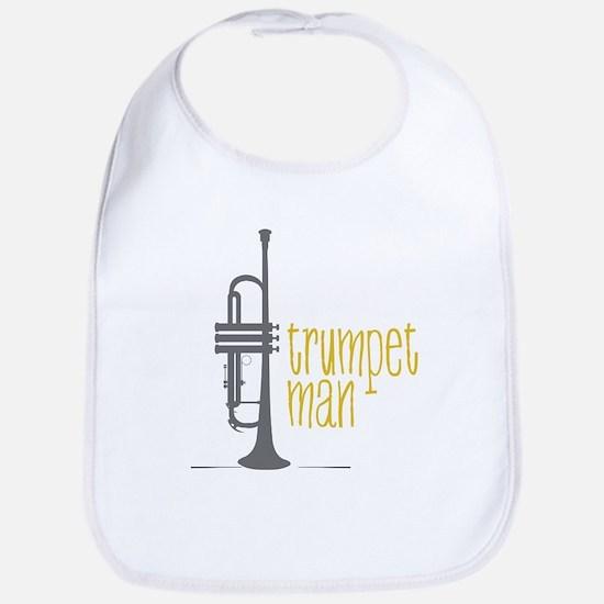 Trumpet Man Bib