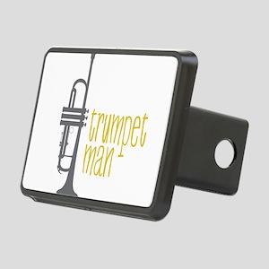 Trumpet Man Rectangular Hitch Cover