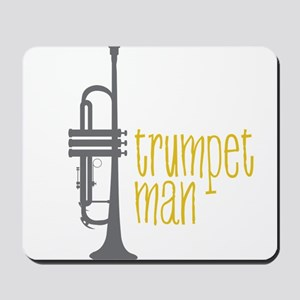 Trumpet Man Mousepad