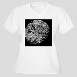 Far side of the Moon - Women's Plus Size V-Neck T-