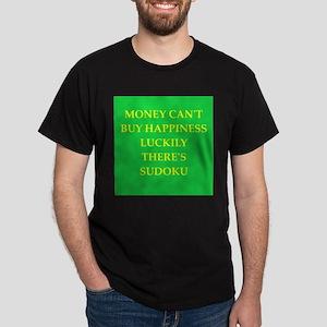 sudoku Dark T-Shirt