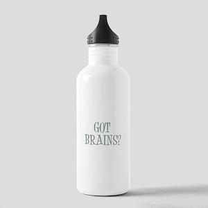 Got Brains? Stainless Water Bottle 1.0L