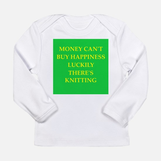 knitting Long Sleeve Infant T-Shirt