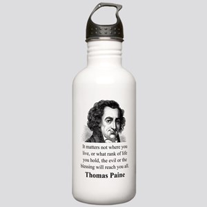 It Matters Not Where You Live - Thomas Paine Water