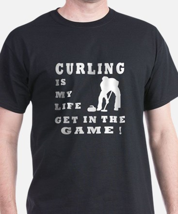 Curling Is My Life T-Shirt