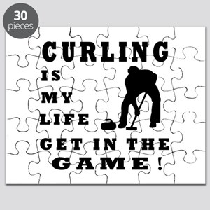 Curling Is My Life Puzzle