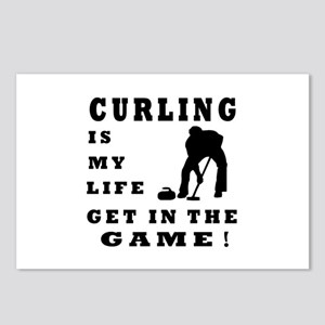 Curling Is My Life Postcards (Package of 8)