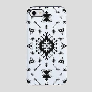 Native American Indian boho et iPhone 7 Tough Case