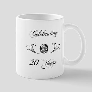 20th Anniversary (b&w) Mug