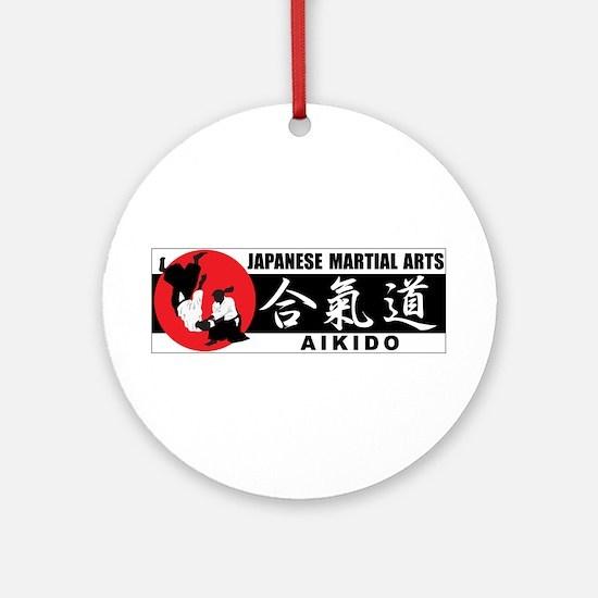 Aikido 2 Ornament (Round)