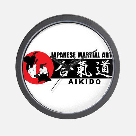 Aikido 2 Wall Clock