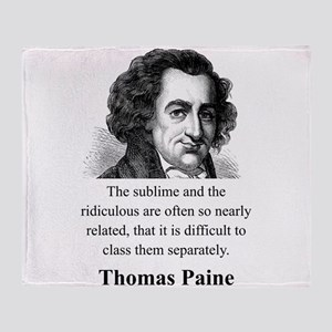 The Sublime And The Ridiculous - Thomas Paine Thro