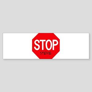 Stop Stevie Bumper Sticker