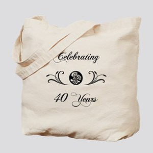40th Anniversary (b&w) Tote Bag