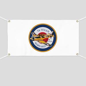 T6 Texan Harvard North American Abzeichen Banner