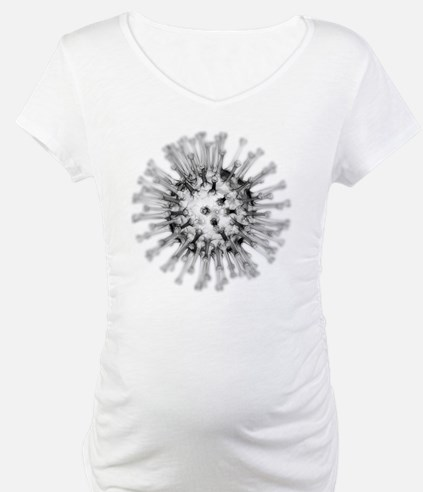 H1N1 flu virus particle, artwork - Shirt