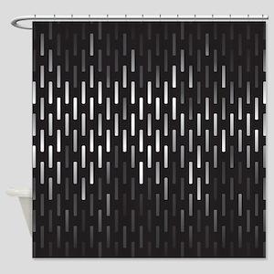 Stylish Black Shower Curtain