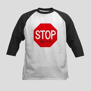Stop Tristin Kids Baseball Jersey