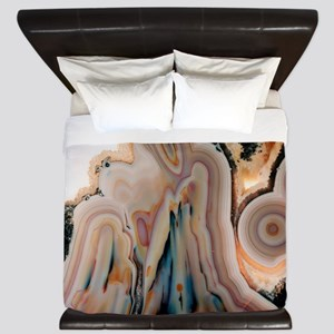Agate slice - King Duvet