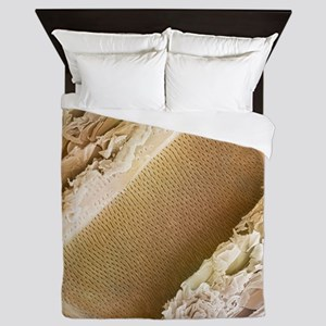 Balsa wood structure, SEM - Queen Duvet