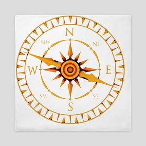 Compass rose - Queen Duvet