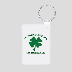 Dundalk Ireland Clover Designs Aluminum Photo Keyc