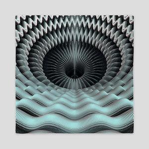 Mandelbulb fractal - Queen Duvet