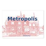 Metropolis Superman Postcards (Package of 8)