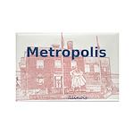 Metropolis Superman Rectangle Magnet (100 pack)