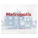 Metropolis Superman King Duvet