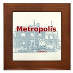 Metropolis Superman Framed Tile