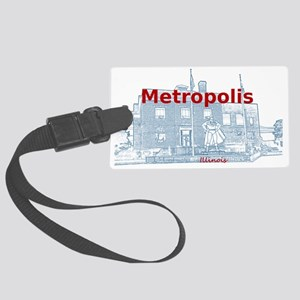 Metropolis Superman Large Luggage Tag