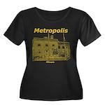 Metropolis Superman Women's Plus Size Scoop Neck D