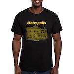 Metropolis Superman Men's Fitted T-Shirt (dark)