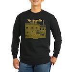 Metropolis Superman Long Sleeve Dark T-Shirt