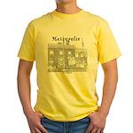Metropolis Superman Yellow T-Shirt