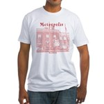 Metropolis Superman Fitted T-Shirt